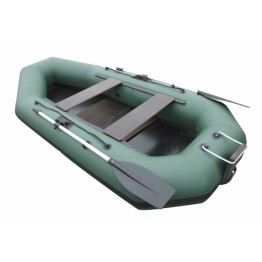 Надувная 2-местная ПВХ лодка Лидер Компакт 280